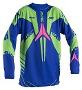 ALIAS Youth Jersey Blue/Neon Green Size XL