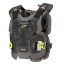ALPINESTARS A-1 Plus Chest Protector Black / Anthracite / Yellow Fluo