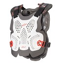 ALPINESTARS A-1 Plus Chest Protector White / Anthracite / Red