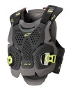 ALPINESTARS A-4 Chest Protector Black / Fluo Yellow