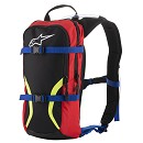 ALPINESTARS IGUANA Hydration Backpack BLACK/BLUE / RED / YELLOW FLUO One Size