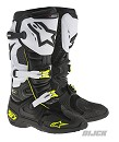 ALPINESTARS 14 Boots TECH 10 BLACK/WHITE Size 11