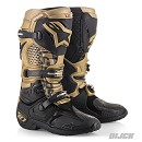 ALPINESTARS Boots TECH 10 BLACK / GOLD / GREY Aviator Limited Edition
