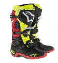 ALPINESTARS 16 Boots TECH10 Black/FluorYellow/White/Red Size 11