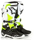 ALPINESTARS Boots TECH 10 BLACK/WHITE/YELLOW D71 Daytona Size 9