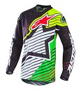 Alpinestars Racer Braap Jersey Black/White/Green