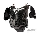 ALPINESTARS A-5 Youth Body Armor BLACK COOL GREY Size S/M