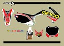 GEICO Team Graphic Kit CRF250 10-13
