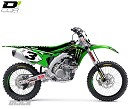 D Cor Graphic Kit Monster KX125/250 03-08