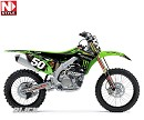 N-STYLE Graphic PRO CIRCUIT Team Kit + Seatcover  KX125/250 03-08.