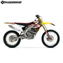 FLUDESIGN PTS Decal Kit RM85 02-14