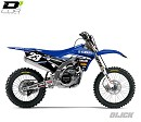 D Cor Graphic Kit Team Star YZF250/450 14-17 White Backgrounds