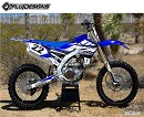 FLUDESIGN PTS3 Decal Kit WRF250/450 07-11