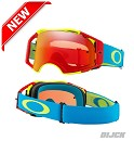 OAKLEY Goggle Airbrake Fluo Red/Green/BlueWith Prizm Torch Lens