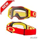OAKLEY Goggle Airbrake MX Red Yellow