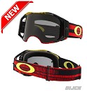 OAKLEY Goggle Airbrake Frequency Red Yellow