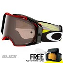 OAKLEY Goggle Airbrake Heritage Racer Red - Prizm Black Irridium Lens