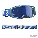 SCOTT Goggle Prospect Bllue / White Blue Chrome Works Lens
