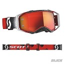 SCOTT Goggle Prospect Red / White Orange Chrome Lens