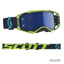 SCOTT Goggle Prospect Blue / Yellow Electric Blue Chrome Works