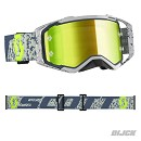 SCOTT Goggle Prospect Grey / Dark Grey Yellow Chrome Lens
