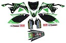 D Cor Graphic Kit Monster KXF250 09-12